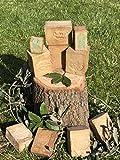 Flora Sense Original Aleppo Soap Set 2x200g, 40%-60% olio di alloro e olio d'oliva, sapone per il viso, sapone per la doccia, eczema, psoriasi, prodotto artigianale, stagionato per 7 anni