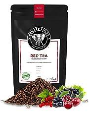 Edward Fields Tea ® - Té Rojo Pu Erh orgánico a granel con Frutos Rojos del Bosque. Té bio recolectado a mano con ingredientes naturales, 100 gramos.