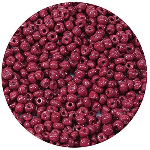 1000 unids / lote 2,5 / 3 / 4mm cuentas de semillas de vidrio checo cuentas pequeñas redondas sueltas para hacer joyas DIY pendientes pulseras-ZH, 3mm