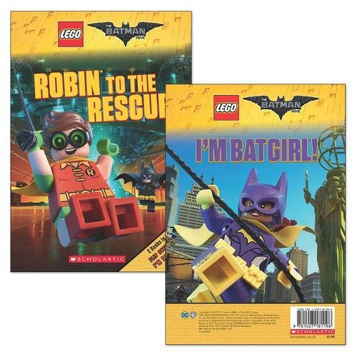 The LEGO Batman Movie: Robin to the Rescue / I'm B atgirl!