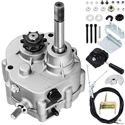 Mophorn Go Kart Forward Reverse Gear Box 10T #40/41 12T #35 Go Karts Accessories TAV2 30 40 41 For 2HP-7HP Engine, Transmission Local Honor, 3 Shift Modes, ONLY Works with 30 Series Torque Converter