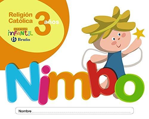 Religión católica Nimbo 3 años - 9788469615799