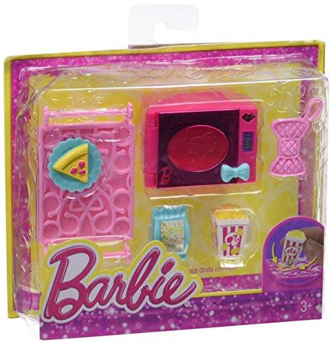 Barbie Mattel X7932 Fashion E Beauty Microonde con Accessori