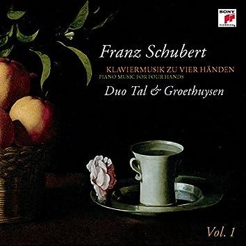 Schubert: Piano Music for 4 Hands, Vol. 1