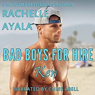 Ken: Hawaiian Holiday     Bad Boys for Hire, Book 2              By:                                                                                                                                 Rachelle Ayala                               Narrated by:                                                                                                                                 Chris Abell                      Length: 3 hrs and 35 mins     49 ratings     Overall 4.4