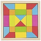 Goki- Puzzles 3DPuzzles con marcoGOKIJuego de Mosaico Arco Iris, Multicolor (1)