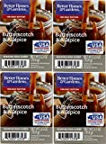 Better Homes and Gardens Butterscotch and Allspice Wax Cubes 4-Pack
