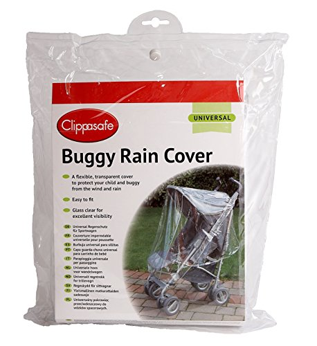 Clippasafe - CL245 - Protection Pluie & Vent - Clippasafe Universal Buggy Rain Cover