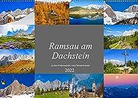 Ramsau am Dachstein (Wandkalender 2022 DIN A2 quer): Impressionen von der Ramsau am Dachstein (Monatskalender, 14 Seiten )