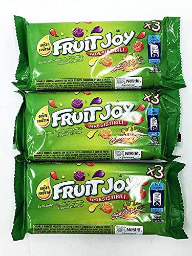 Fruit Joy Original caramelle 3 tubi da 45 g. x3confezioni