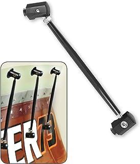 Longacre 52-23758 Aluminum Support Rod, Black, 8 Inch, Each
