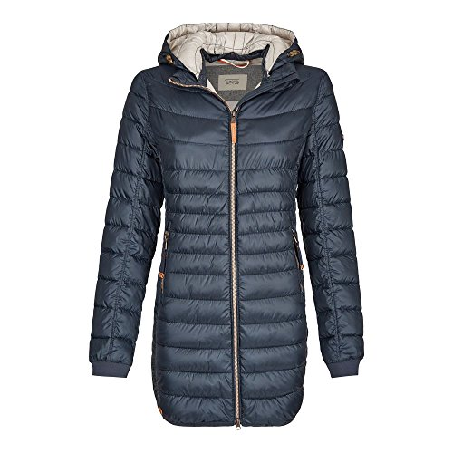 Camel Active Womenswear Damen Steppjacke Jacke 320820, Blau (Navy 43), 40 (Herstellergröße: 14)
