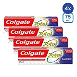 Dentifrice Colgate Total Blancheur- Lot de 4 (4 x 75ml)