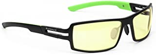 Gunnar Razor RPG Computer and Gaming Glasses with Amber Lenses - Onyx Amber
