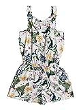 Roxy Mono con Tirantes para Niña Vestido Informal, Snow White RG PRASLIN, 10/M para Niñas