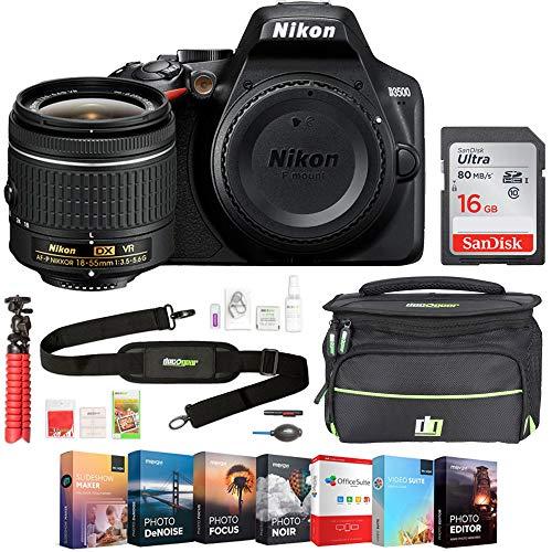 Nikon D3500 24.2MP DSLR Camera with AF-P DX NIKKOR...