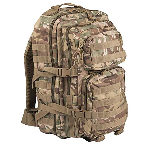 Army Patrol Day Pack Rucksack Tactical Assault 36L Backpack MOLLE Multicam Camo