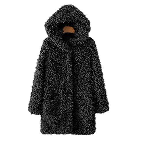 Desires Inata Parka De Entretiempo Abrigo Chaqueta para Mujer con Capucha