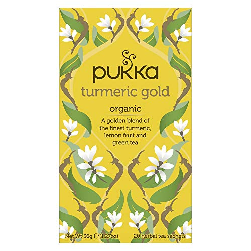 PUKKA Herbal Ayurveda Organic Turmeric Gold Bags