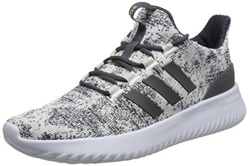 adidas Men's Cloudfoam Ultimate Fitness Shoes, White (Ftwwht/Grefiv/Cblack 000), 12 UK (47 1/3 EU)