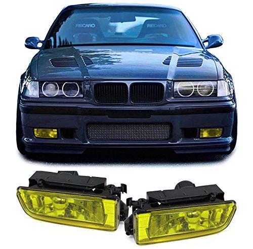 Carparts-Online 28537 Klarglas Nebelscheinwerfer Gelb
