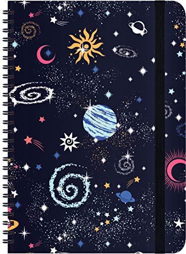 Schülerkalender Galaxy 2020/2021: mit 12-monat.-Kalendarium von August 2020 bis Juli 2021. Pro Woche 2 Seiten mit viel Platz für Notizen. Format 14,8 x 21 cm