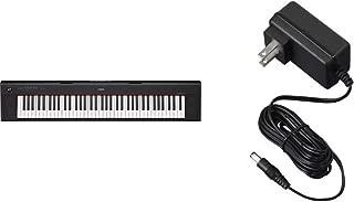 Yamaha NP32 76-Key Lightweight Portable Keyboard with Power Supply, Black