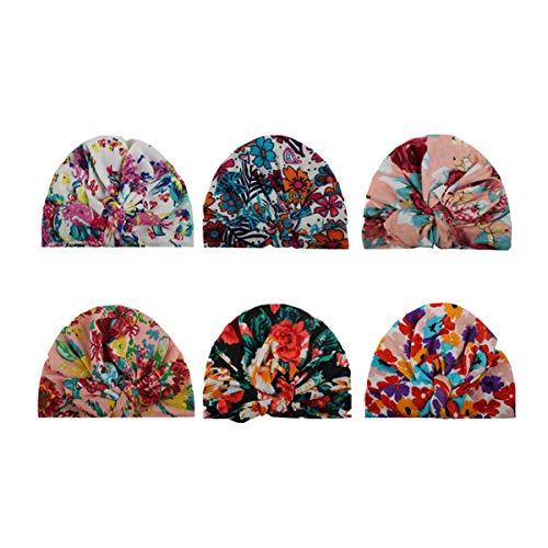 COUXILY COUXILY Babymütze Baby Mädchen Mütze Neugeborenenmütze Erstlingsmütze Strick Hüte Mützen & Caps Hut- Baumwolle für 0-2 Jahre(HF-C01)