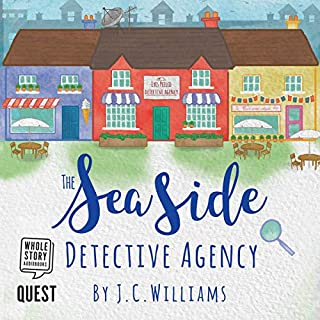 The Seaside Detective Agency audiobook cover art