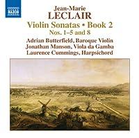 Violin Sonatas Book 2-Nos. 1-5 & 8