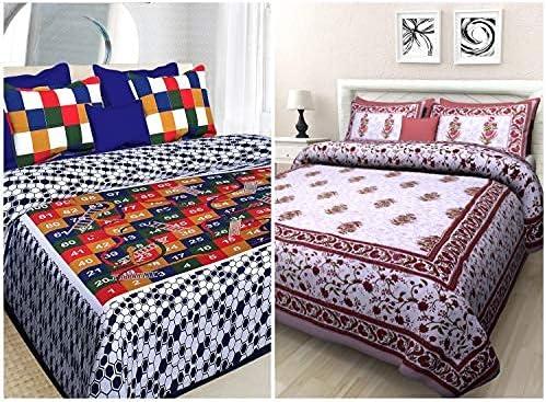 Tucson Mall SataanReaper Presents 100% Cotton 144 Tc Surprise price Sheets Bed Double Combo