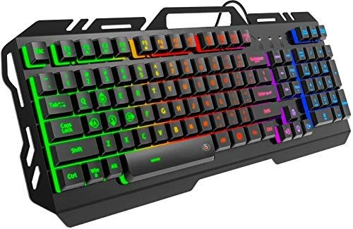 Offbeat® Slayer Wired Gaming Mechanical Like Keyboard