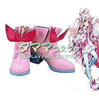 ラビィ エルソード ELSWORD Laby コスプレ 靴 ブーツ コスプレ靴 cosplay オーダーサイズ/スタイル 製作可能 【タママ】(26.5cm)