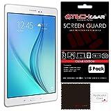 TECHGEAR [5 Pack] Protection d'Écran pour Galaxy Tab A 9.7, Film de Protection Ultra Clair avec...