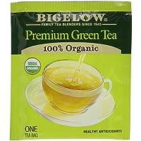176 Count Bigelow Premium 100% Organic Green Tea Bags