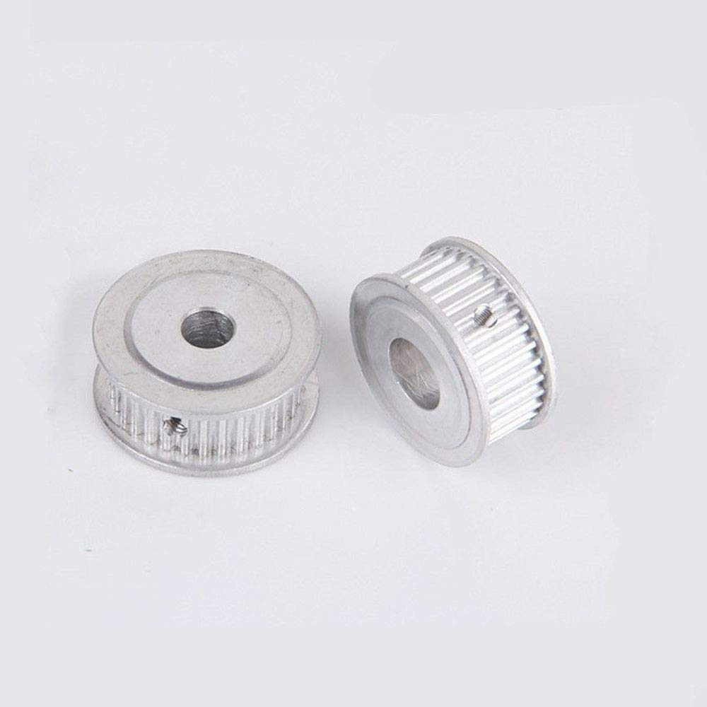 5M 20T Timing Belt Pulley Synchronous Wheel 5mm Pitch 6.35mm Bore for 20mm Width Belt Bore:6.35mm, Tooth Width:21mm