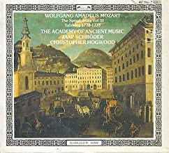 Wolfgang Amadeus Mozart: The Symphonies Vol. III, Salzburg 1772-1773 - The Academy of Ancient Music / Christopher Hogwood