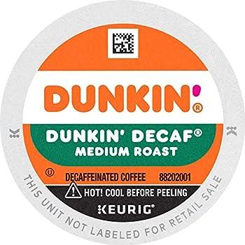 Dunkin  Decaf Medium Roast Coffee 88 Keurig K-Cup Pods