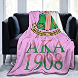 Aka 1908 Ultra Soft Micro Fleece Blanket Microfiber Blanket, Luxury Blanket for Bedding Sofa and Travel 50x40 Inch B