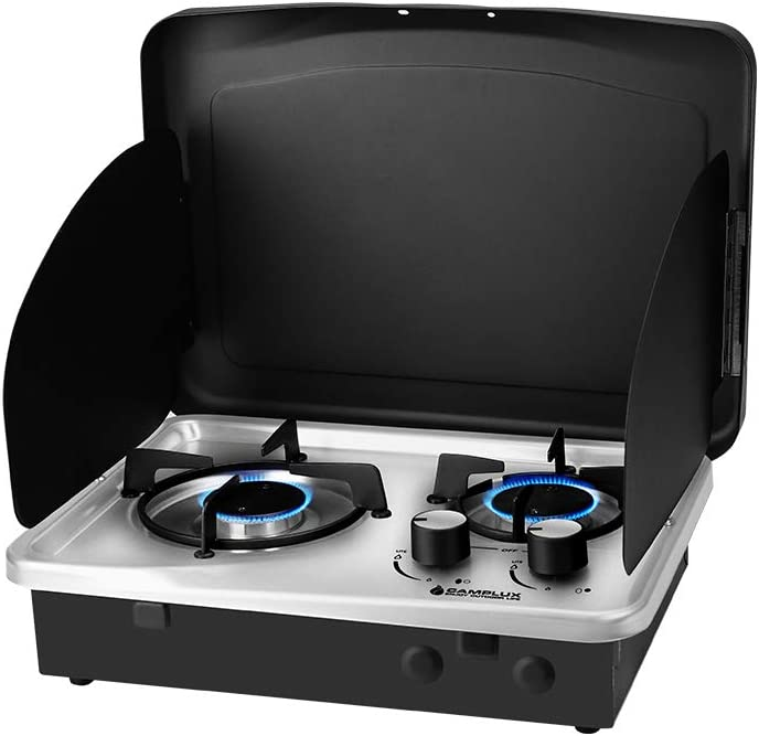 Max 61% OFF Camplux Pro Built-in Propane Surprise price RV Steel Stainless Gas Cooktop