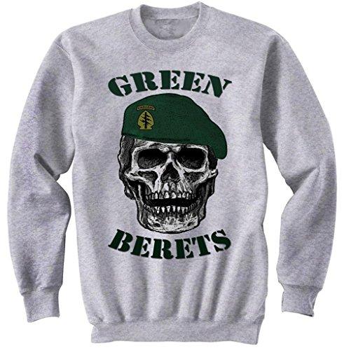 teesquare1st Green Berets 1 Gris Sudadera