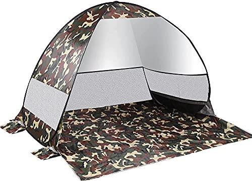 QPP-CL Pop Up Beach Tent.Sun Shelter Shade Automático Afilado Impermeable Tienda Instantánea Instantánea Al Aire Libre Tienda Camping