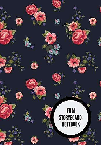 Film Storyboard Notebook: Portable Portable Film Notebook| Clapperboard and Frame Sketchbook Template| Panel Pages for Storytelling| Story Drawing & 4 ... Animators & Advertisers. Paperback Paperback
