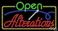 17x 32x 1インチAlterationsアニメーション点滅LEDウィンドウサイン