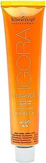 Schwarzkopf Professional Igora Vibrance Tone Hair Color, 7-77, Medium Blonde Copper Extra, 2.1 Ounce