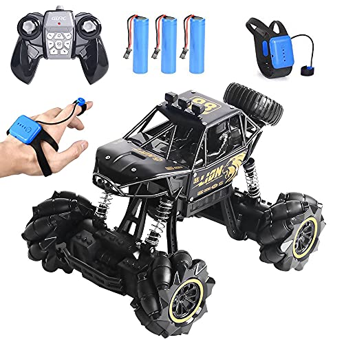 4DRC C3 RC Car, Alloy Remote Control Drift Car for Kids,Off Road Monster...