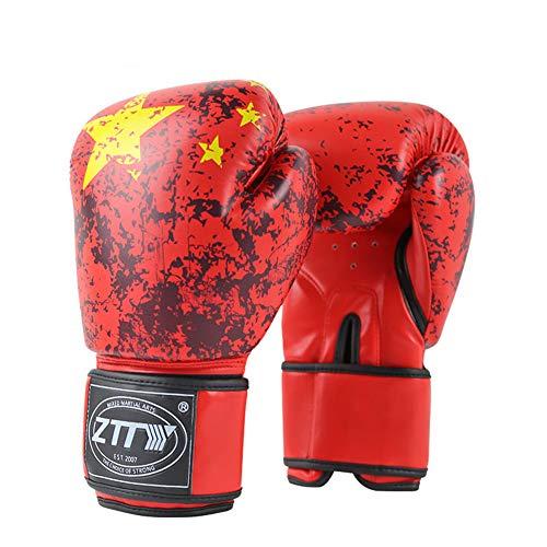 BOZHUO Boxhandschuhe MMA Boxsack Trainingshandschuhe, 8Oz, 10Oz, 12Oz, 14Oz, 16Oz,8oz