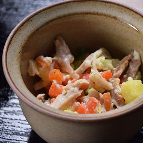 [テヅカヤマハウンドカム]犬 手作りご飯 お惣菜 低リンで腎臓に優しい単品7食Aセット 鶏と野菜のカッテージチーズ和え7食 ハウンドカム食堂