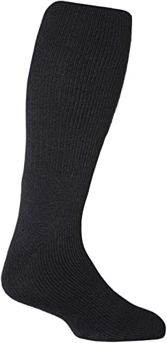 Heat Holders - Mens Extra Long Thick Winter Warm Thermal Knee High Socks 6-11 UK