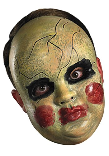 Adult Smeary Doll Face Mask Standard